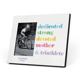 Triathlon Photo Frame - Mantra Mother Triathlete