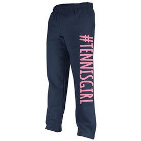 Tennis Fleece Sweatpants #TENNISGIRL