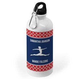Gymnastics 20 oz. Stainless Steel Water Bottle - Team with Gymnast