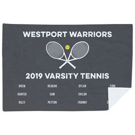 Tennis Premium Blanket - Team Roster