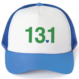 Running Trucker Hat 13.1 Heart