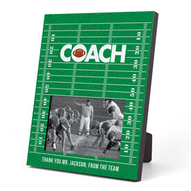 Football Photo Frame - Coach (Field)