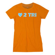 Women's Everyday Runners Tee LOVE 2 TRI