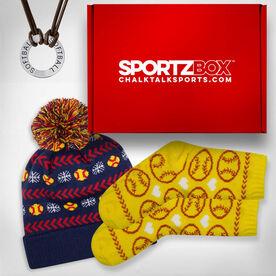 Softball SportzBox Gift Set - For the Home Run