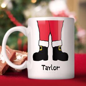 Santa's Boots Personalized Mug