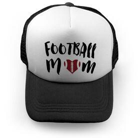 Football Trucker Hat Mom