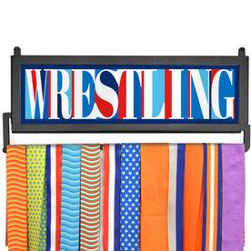 AthletesWALL Medal Display - Wrestling Mosaic