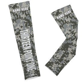 Printed Arm Sleeves Thirteen Point One (Words)
