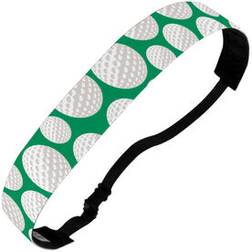 Golf Juliband No-Slip Headband - Tossed Ball Pattern