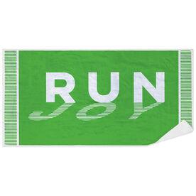 Running Premium Beach Towel - Run Joy