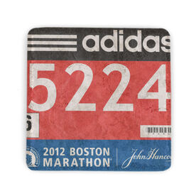 Your Race Bib on Your Coaster BibCOASTERS - Stone Coaster