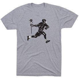 Lacrosse Tshirt Short Sleeve Lax Player
