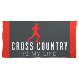 Cross Country Beach Towel My Life (Male)