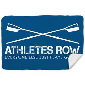 Crew Sherpa Fleece Blanket Athletes Row