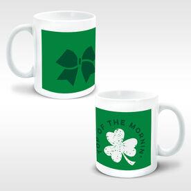 Cheerleading Coffee Mug Top Of The Mornin' Shamrock