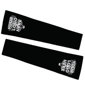 Football Printed Arm Sleeves - Your Logo