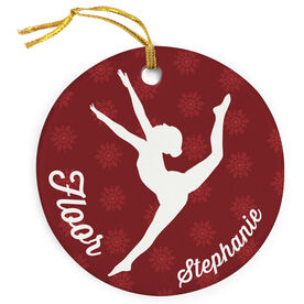 Gymnastics Porcelain Ornament Floor