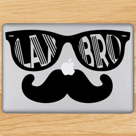 Lax Bro Removable ChalkTalkGraphix Laptop Decal