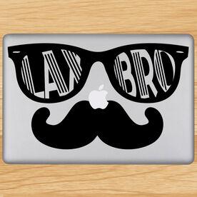 Lax Bro Removable ChalkTalkGraphix Laptop Decal