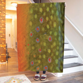 Fly Fishing Premium Blanket - Brook Trout