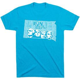Running Short Sleeve T-Shirt - South Dakota State Runner