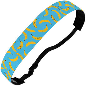 Running Julibands No-Slip Headbands - Banana Pattern