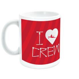 Crew Coffee Mug I Heart (with Oars)