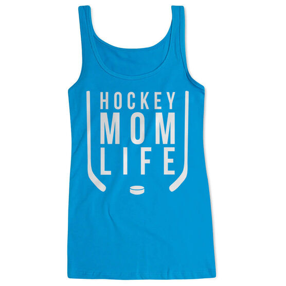 Hockey Women's Athletic Tank Top - Hockey Mom Life