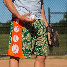 Hunter Camo Baseball Shorts