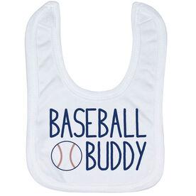 Baseball Baby Bib - Baseball Buddy