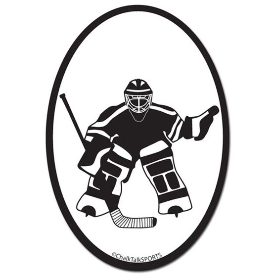 Hockey Goalie Decal