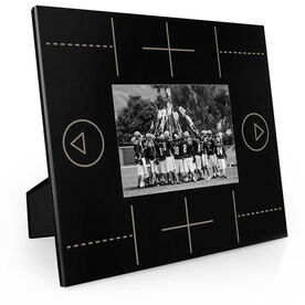 Guys Lacrosse Engraved Picture Frame - Field