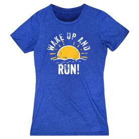 Women's Everyday Runners Tee - Wake Up And Run