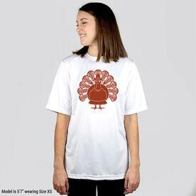 Girls Lacrosse Short Sleeve Performance Tee - Turkey Player