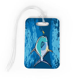 Fly Fishing Bag/Luggage Tag - Permit On The Fly
