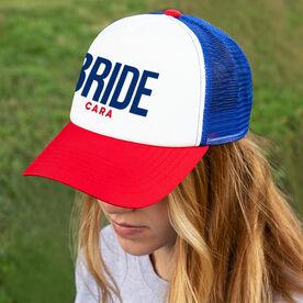 Personalized Trucker Hat - Bride
