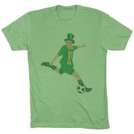 Soccer Vintage Lifestyle T-Shirt - Leprechaun