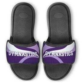 Gymnastics Repwell™ Slide Sandals - Gymnastics With Waves