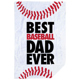 Baseball Premium Blanket - Best Dad Ever