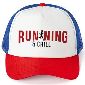 Running Trucker Hat - Running And Chill
