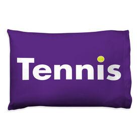 Tennis Pillowcase - Word With Ball