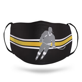 Hockey Face Mask - Player Stripe