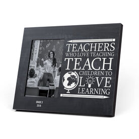 Personalized Photo Frame - Love Teaching