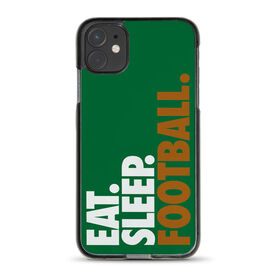 Football iPhone® Case - Eat. Sleep. Football.