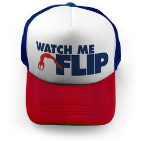 Cheer Trucker Hat Watch Me Flip