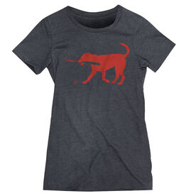 Baseball Women's Everyday Tee - Buddy The Baseball Dog