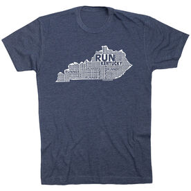 Running Short Sleeve T-Shirt - Kentucky State Runner
