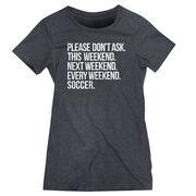 Soccer Women's Everyday Tee - All Weekend Soccer