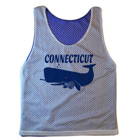 Guys Lacrosse Pinnie - Connecticut Whale Lax