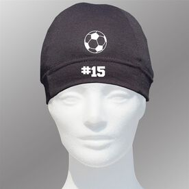 Beanie Performance Hat - Soccer Team Number